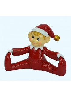 Love this Pixie Touching Toes Figurine on Red Pixie, Yule, Elves, Disney Characters, Fictional Characters, Touch, Pixies, Disney Princess, Collection