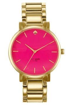 kate spade new york 'gramercy grand' bracelet watch, 38mm | Nordstrom