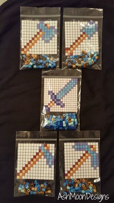 Minecraft Perler Bea