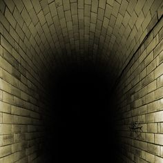 Stay away from the dark tunnel! by ..Peter