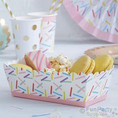Pick & Mix Party Sprinkles Food Trays – 6cm (5pk)