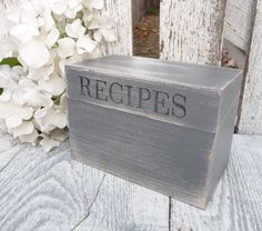 Simple. Rustic. Love love. https://www.etsy.com/listing/170939126/gray-and-white-shabby-chic-rustic-wood