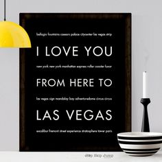 Be the big winner with this fabulous Las Vegas wall art. Whether the location of your whirlwind romance or the choice destination for your family vacation, cherish every memory with this unique poster