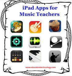 30 iPad Apps for Music Teachers