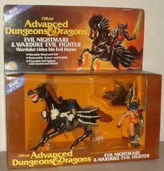 Warduke & Evil Nightmare gift set - Advanced Dungeons & Dragons