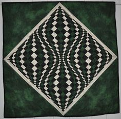 Another optical illusion quilt! <3