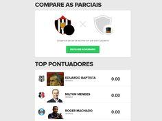 Cartola FC: saiba como ver pontuação parcial de um amigo durante a rodada #globoesporte