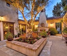 Spanish style homes – Mediterranean Home Decor Style Hacienda, Hacienda Homes, Outdoor Rooms, Outdoor Gardens, Outdoor Living, Spanish Style Homes, Spanish House, Spanish Colonial, Rustic Outdoor Decor