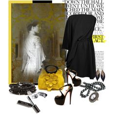 The Past Looks ON, created by arnetta on Polyvore