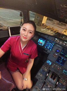 Flight Attendant, Asian Girl, Sexy, Fashion, Asia Girl, Moda, Fashion Styles, Fashion Illustrations