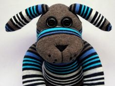 Sockamajig dog, Dogamajig? He is £15 plus p+p. Do you want me to make one for you?