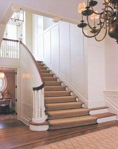 Panelled Stairway   Shope Reno Wharton