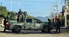 <p>Guamúchil, Sin.- Al menos seis personas muertas dejó el enfrentamiento de esta madrugada en la ciudad de Guamúchil. Los cuerpos quedaron