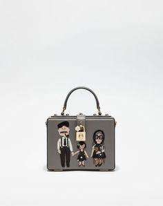 DOLCE  amp  GABBANA Dolce Box Handbag With Dg Family Patch.  dolcegabbana   bags 6db696513c