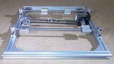 Homemade 3D Printer Machine Laser Engraving Plotter Arduino Driver Contr...