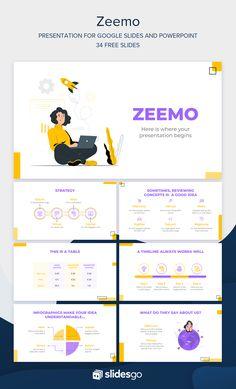 Business Plan Presentation, Presentation Design Template, Powerpoint Design Templates, Powerpoint Themes, Banner Design Inspiration, Keynote Design, Slide Design, Background Ppt, Anime Chibi