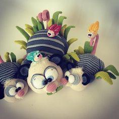 #maladesigns #opossum #crochetlove