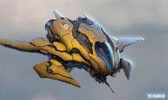 Share via artstation ios app, artstation © 2016 vehicle conc Spaceship Art, Spaceship Design, Concept Ships, Concept Cars, Wireframe, Killzone Shadow Fall, Les Aliens, Starship Concept, Design Ios