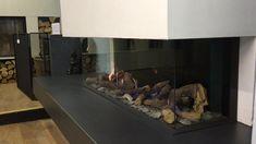 Stunning Bellfire Viewbell gas fire on display in J Day Stoneworks showroom #gasfire #bellfire #viewbell #homeinspo #homedecor #interiordesign #fireplace #stalbans #harpenden St Albans, Modern Fireplace, Gas Fires, Home Interior Design, Showroom, Display, Home Decor, Floor Space, Decoration Home