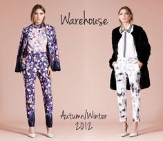 back to school fashion | Back to School Shopping: Warehouse Autumn/Winter 2012 Lookbook ...