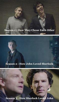 Sherlock & John... there goes my heart again.