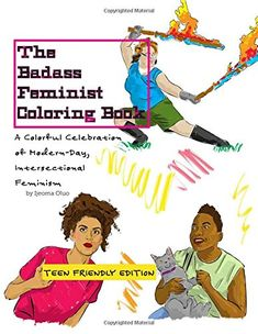 the badass feminist coloring book teen friendly edition volume 2 - Bill Murray Coloring Book