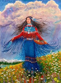 Shaman-The medicine woman brings you to the place inside of yourself. The journey is the healing that happens when you arrive at that place. Peace abounds. -Tara Malouf