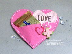 Memory Box Plush Folk Hearts, Memory Box Plush Flower Buttons, Open Studio Smile Clear Stamps, Jean Okimoto, felt, Imagine Crafts, Impress Cards and Crafts, Valentines