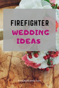 Looking for inspiration for the most important day of your life? These firefighter wedding ideas are perfect for your upcoming nuptials.