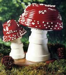 mushrooms for the garden / creative gardening ideas / inspiration / di… › 25 + Fairytale mushrooms for the garden / creative gardening ideas / inspiration / di. Fairytale mushrooms for the garden / creative gardening ideas / inspiration / di. Diy Garden, Garden Boxes, Garden Crafts, Garden Projects, Garden Art, Garden Ideas, Herb Garden, Garden Landscaping, Fence Garden