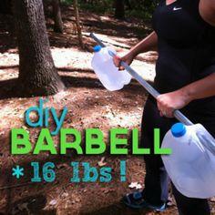 DIY Barbell - Fitnessmagazine.com