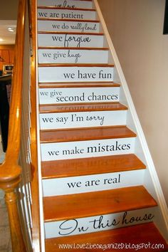 steppin up in style, home decor, stairs
