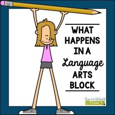 Teachers ask me all the time, how do I fit in time for language arts. The answer is, I set up a language arts block to ensure I cover all the needed skills for a complete literacy instruction program. Reading Resources, Writing Workshop, Creative Writing, Writing Ideas, Out Of This World, Language Arts, Literacy, Classroom, Teacher