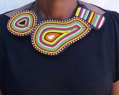 Maasai Beaded Statement Jewelry for the head-turners by AfricaZuri Will Turner, Marketing And Advertising, Statement Jewelry, Handmade Items, Etsy Seller, Buy And Sell, Stuff To Buy