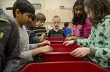 Last week, elementary students in Genesee County spent a week away from their usual desks to learn in a new classroom: Sloan Museum. New Classroom, Desks, Literacy, Michigan, Students, Museum, Education, Learning, Mesas