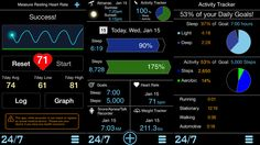 One app: Sleep, apnea, heart monitor, weight loss, activity tracker and more