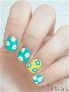 Bourjois - Turquoise Block & flowers