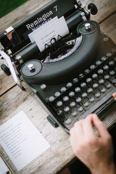 typewriter love poems by http://www.wortfachgeschaeft.com