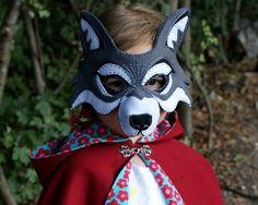 Wolf Mask PDF Pattern von oxeyedaisey auf Etsy
