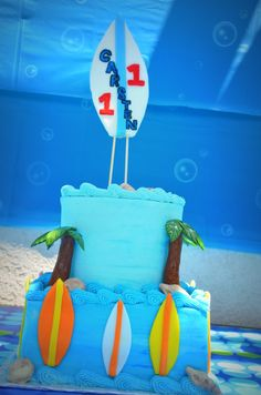 This surf cake is stoked!