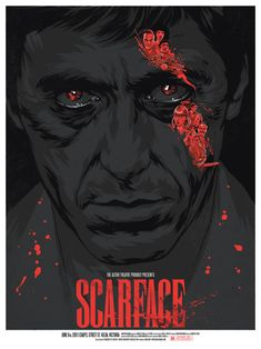 "Phantom City Creative's ""Scarface"" Variant Movie Poster photo by posterocalypse"