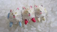 Vintage brooch, 3 little kittens and their mittens  3 little kitten, vintage 1930 lapel pin, 1930 fashion jewlery, kitten with mittens 2 inches