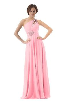 Faironly Women's One Shoulder Evening Dress , Pink , Size|XS FairOnly,http://www.amazon.com/dp/B00APFDFJS/ref=cm_sw_r_pi_dp_tzsWsb046XGPPDH7