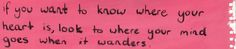 Where does your mind go, when it wanders? /\|-|
