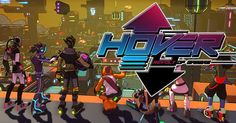 The Next Jet Set Radio Hover : Revolt of Gamers is out now on Steam