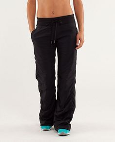 Lululemon Studio Pant II*Lined - similar to a windpant but much more flattering and comfortable waist band