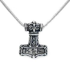 Bindrune Hammer Alchemy Gothic Pendant Necklace Alchemy of England. Save 34 Off!. $29.00. Scandinavian hammer with powerful runes, lead-free fine English pewter by Alchemy Gothic, includes snake chain. comes gift boxed, ships immediately. lifetime warranty, satisfaction guaranteed