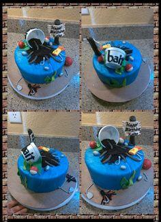 Gone Fishing Birthday Cake!! 9-27-14