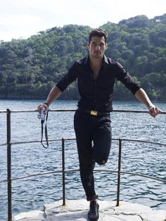 David Gandy for Portofino, Italy 2010 David Gandy, Famous Male Models, Androgynous Models, Dolce E Gabbana, British Men, Raining Men, Perfect Man, Gorgeous Men, Supermodels