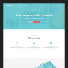 Put Your Best Assets on Display with the Showcase Pro Theme